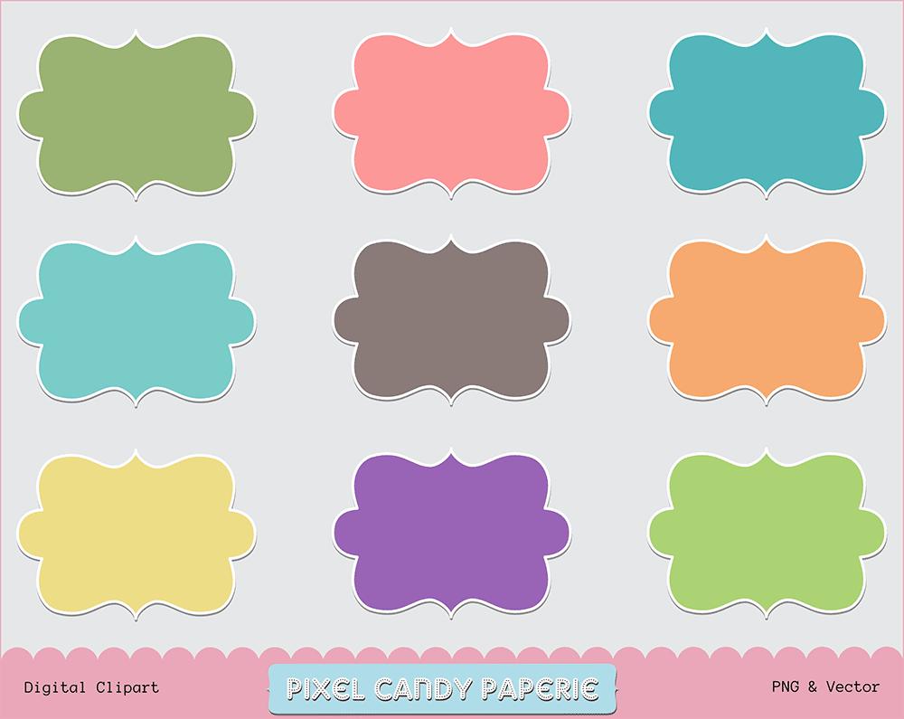 Free Rainbow Border Clip Art Round Photo Frames Pixel Candy - 1000x795 ...